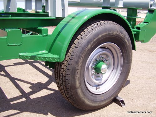 MIDLAND CARRIERS - Polyethylene Pipe Spool Trailers and